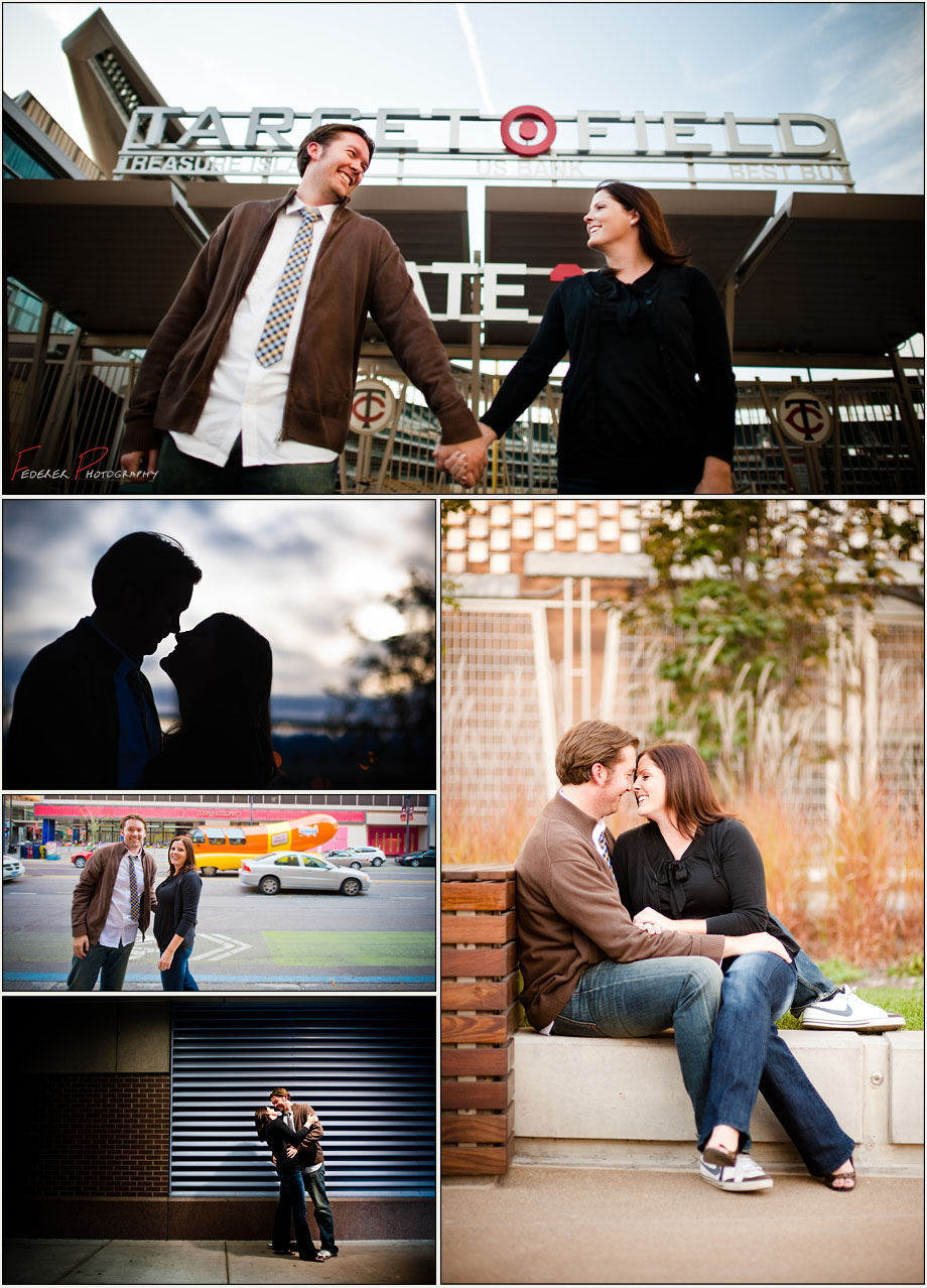 Engagement Photographs in Minneapolis