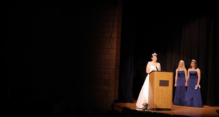 Photography from Miss Fridley Pageant