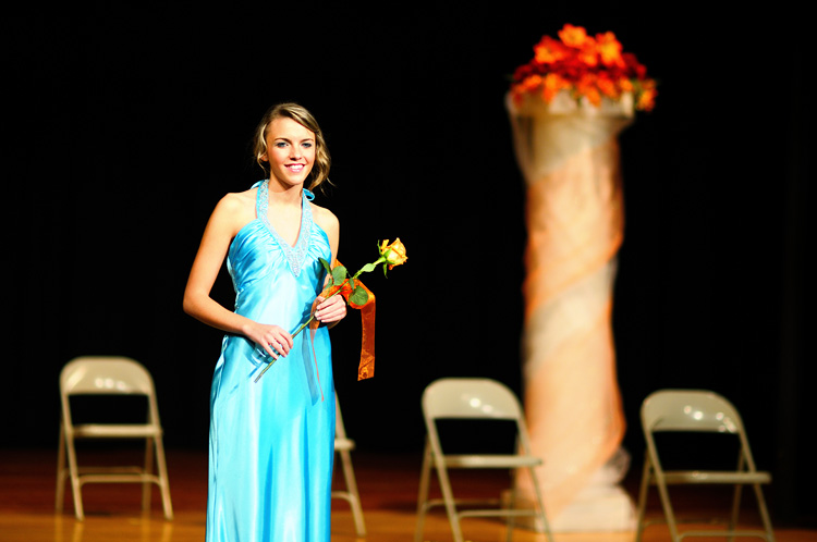 Photograph of Miss Fridley Pageant