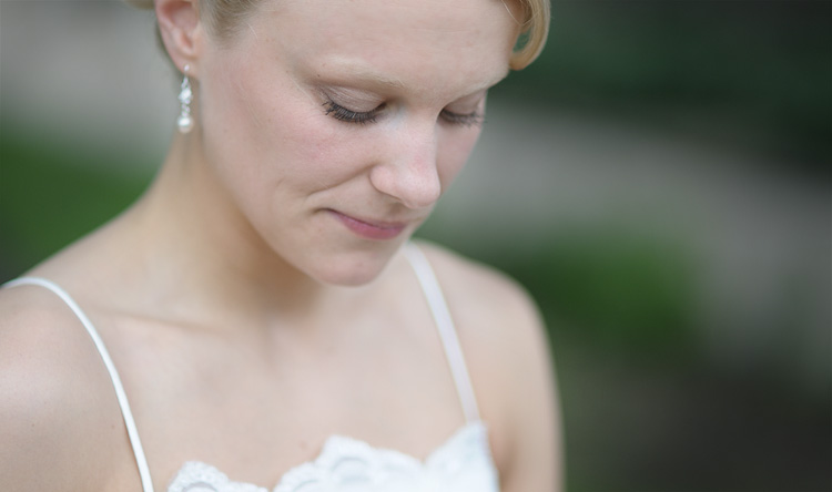 Wedding Photography of Bride