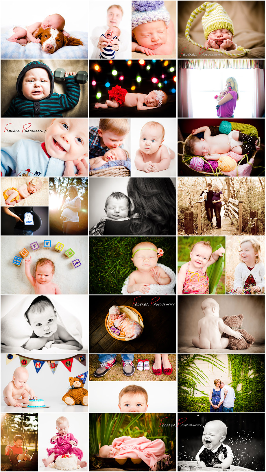 Unique newborn photographs in Minnesota