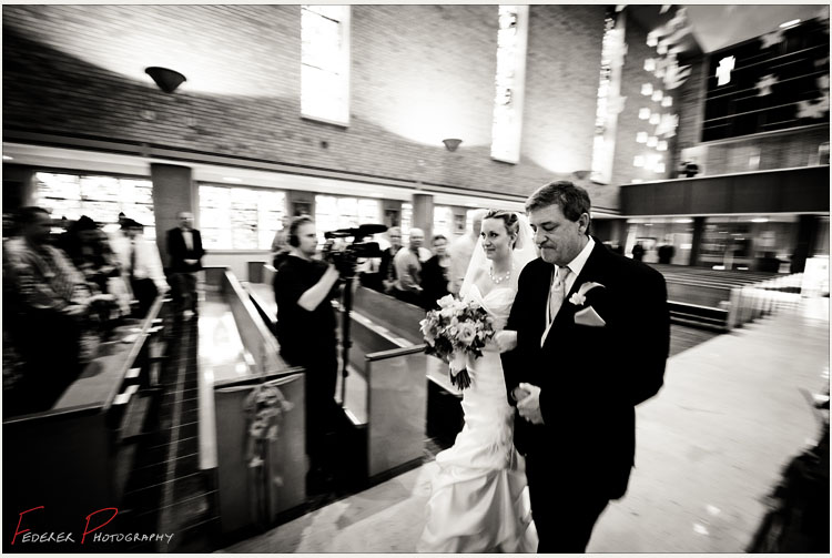 Bride and Father from Minnetonka Minnesota