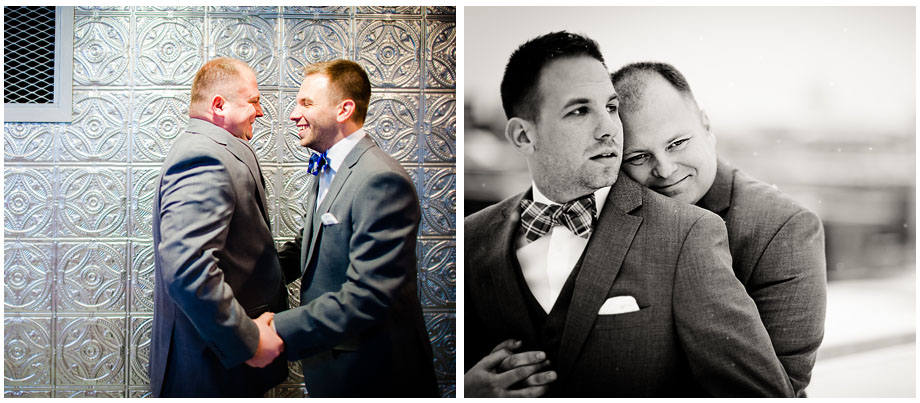 St. Paul Minnesota Gay Wedding Photograph